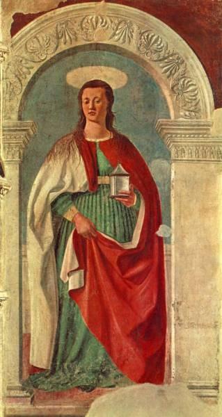 PIERO della FRANCESCA Saint Mary Magdalen